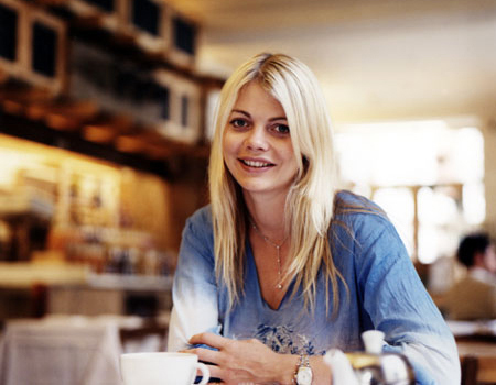 Jodie Kidd, make up artist